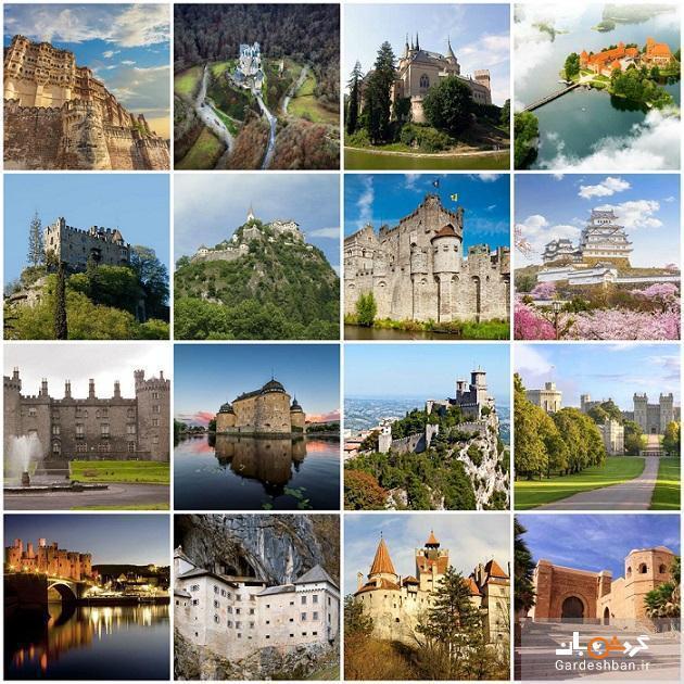 زیباترین قلعه های قرون وسطایی دنیا