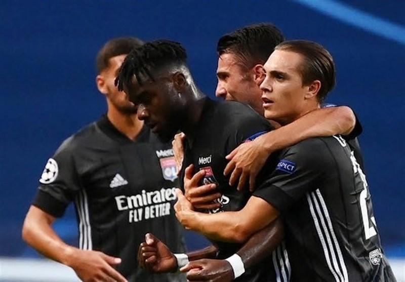 لیگ قهرمانان اروپا، لیون با غلبه بر منچسترسیتی حریف بایرن مونیخ شد، غول کش فرانسوی همچنان می تازد