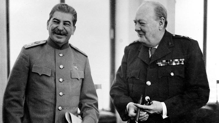 اولین تلفات دوستی چرچیل و استالین