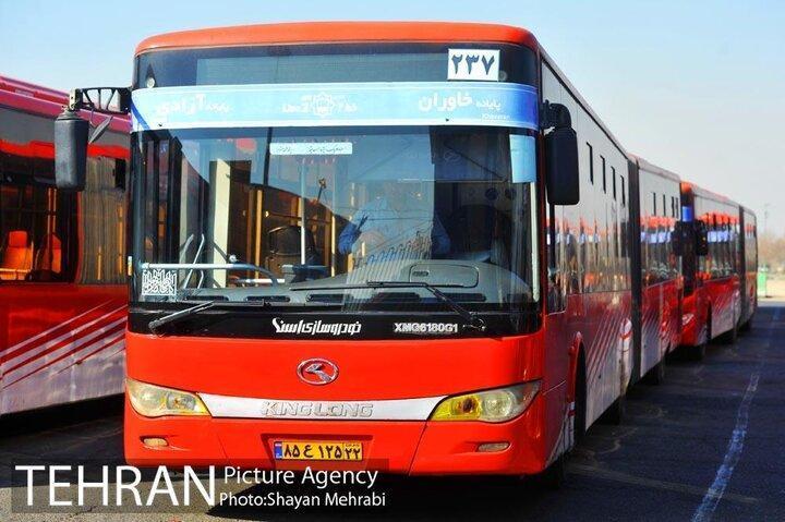 تحویل 50 دستگاه اتوبوس و مینی بوس به شهرداری تهران تا اواسط آبان