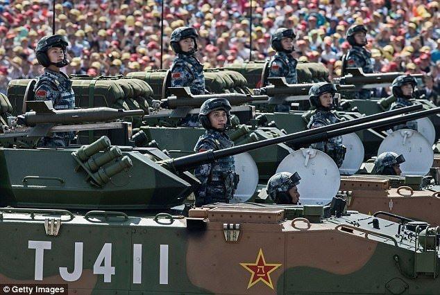چین به دنبال تبدیل ارتش به یک نیروی نظامی مدرن پیشتاز تا سال 2027