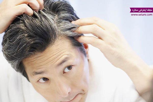 هلیله سیاه و سفیدی مو (درمان گیاهی سفیدی مو)