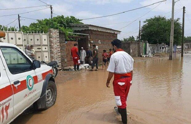 امدادرسانی به 240 نفر از متاثران حوادث طی 3 روز گذشته