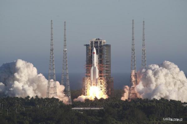 اولین پرواز راکت جدید Long March 8 چین