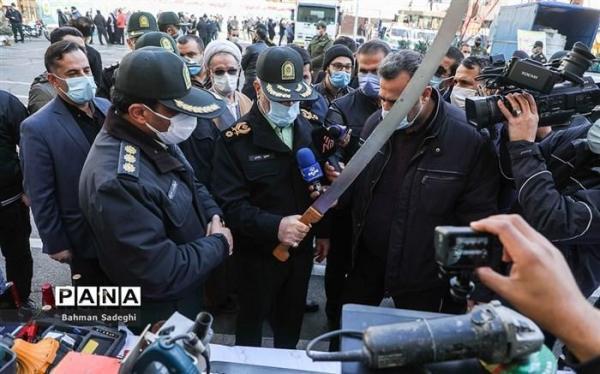 دستگیری 670 دزد و مالخر در چهلمین طرح رعد