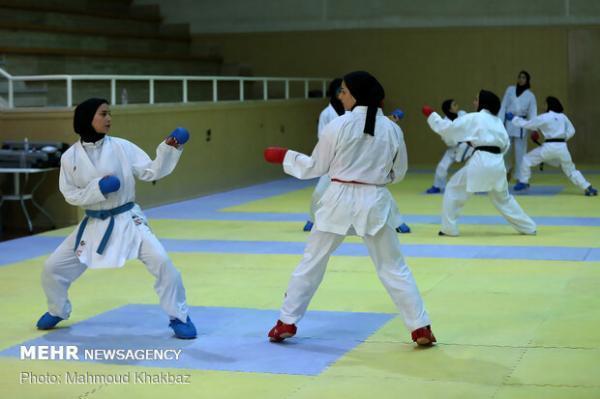 کرونا اردوی تیم ملی کاراته بانوان را تعطیل کرد