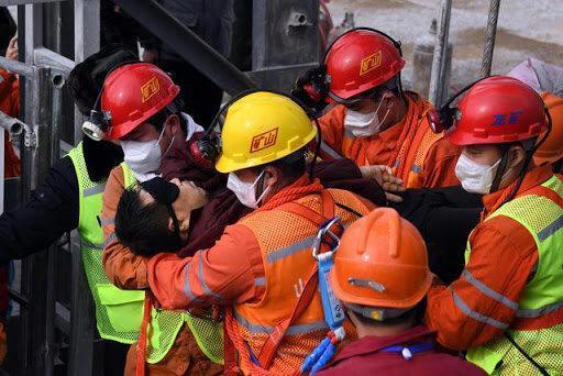 کشف اجساد 9 کارگر محبوس در معدن طلای چین