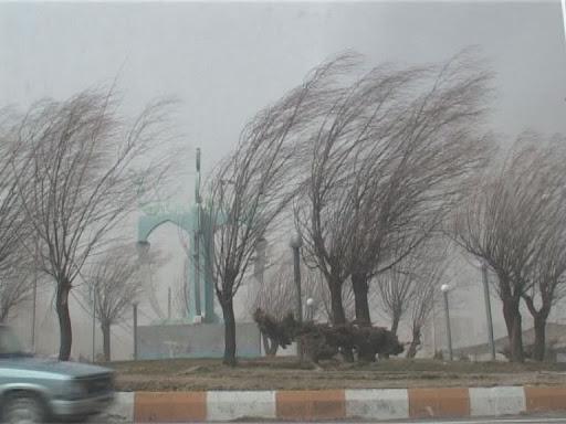 وزش باد های شدید در شهر های مختلف، افزایش دما در اغلب استان ها