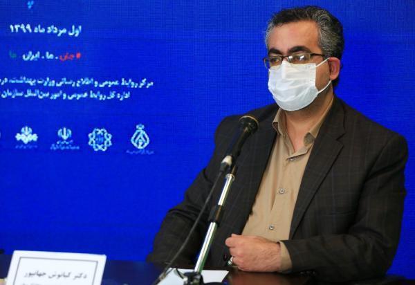 جهانپور: تا کنون جهش اساسی با تغییر معنادار رفتار کروناویروس در ایران مشاهده و گزارش نشده است خبرنگاران