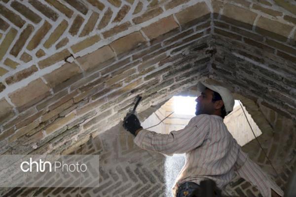 بازدید روزانه از فرایند اجرایی تعمیر، بازسازی و حفاظت از بازار تاریخی زنجان
