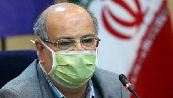 ارزیابی بستری ها و مرگ های کرونایی در تهران ، بستری روزانه 2000 نفر