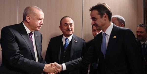 سران یونان و ترکیه خاتمه بر تنش زدایی تاکید کردند