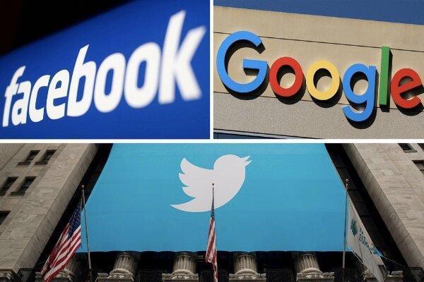 ترامپ از گوگل، فیس بوک و توئیتر شکایت کرد