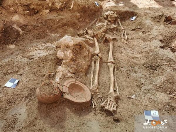 کشف گورستان باستانی در یک کاخ! ، عکس