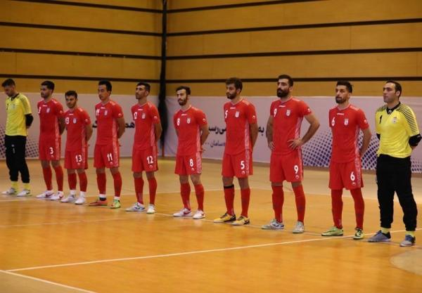 اولین تمرین تیم ملی فوتسال در بلاروس برگزار گردید