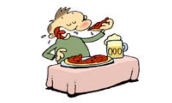 غذای تان را در 20 تا 25 دقیقه بخورید